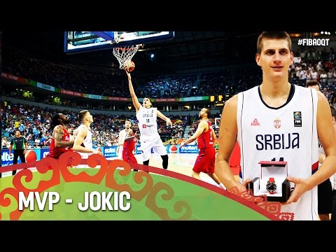 Nikola Jokic - MVP - 2016 FIBA Olympic Qualifying Tournament - Belgrade