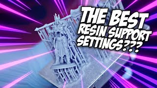 Are these the BEST Resin Support Settings? 3DPrintingPro's Insane Resin Supports