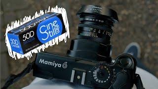Cinestill 50D in a Mamiya 6 // 1st Roll Review