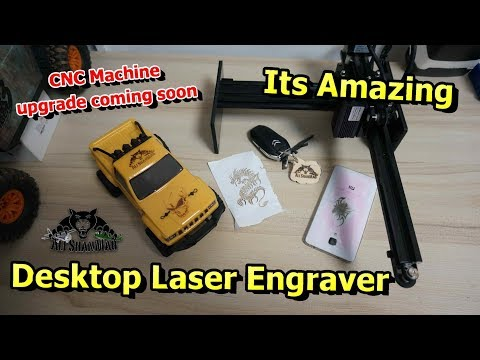 3500mW Laser Compact Desktop Laser Engraver Image Carver CNC Machine