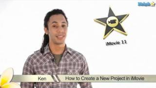 Learn iMovie 11 - How to Create a new Project