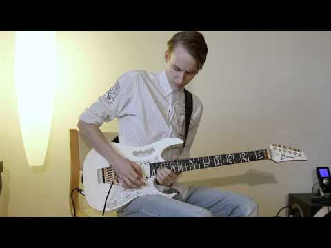 Jakob Skov Freudendahl - Guitar Improv to Pink Floyd Backing track