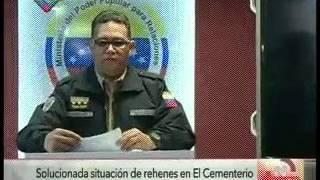 "Ministro González López mostró video de la captura de ""El Buñuelo"""