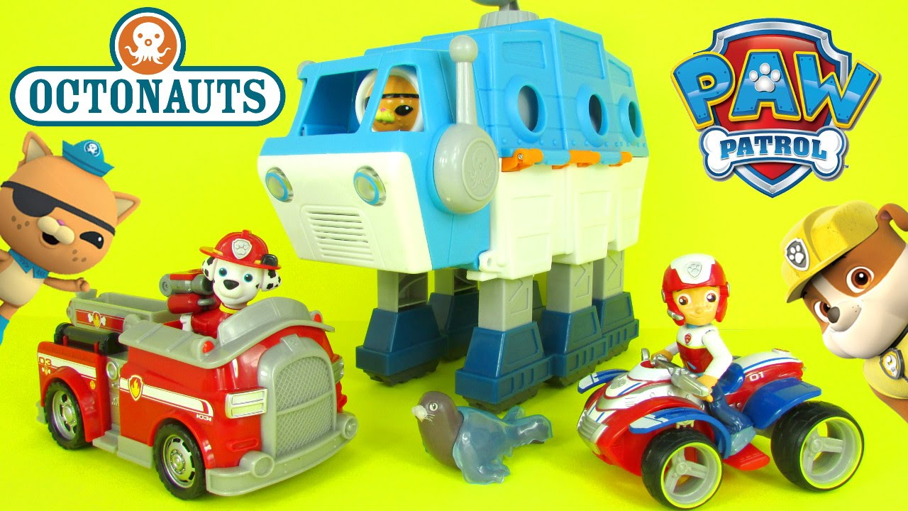 Paw patrol octonauts parody share paw patrol look out