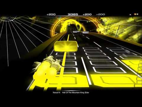 Noisuf-X - Hall Of The Mountain King Edward Griek Cover [Audiosurf - Elite]