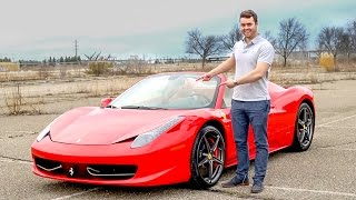 Ferrari 458 Spider Review - The BEST CAR I've Ever Driven!