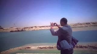 هانى عبد الرحمن رئيس التحرير يرصد وصول اول فندق عائم فى القطاع الاوسط