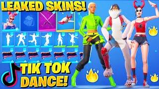 All New Leaked Skins & Dance Emotes..! *TikTok Renegade Dance* (Starflare, Kyra, Cozy Chomps, Verve)