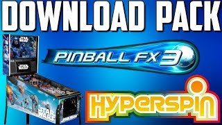 HYPERSPIN / DOWNLOAD PACK PINBALL FX3 / 75 MESAS