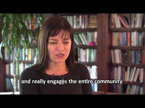 Dzana Homan CEO School of Rock loves the Growing Garden Academy