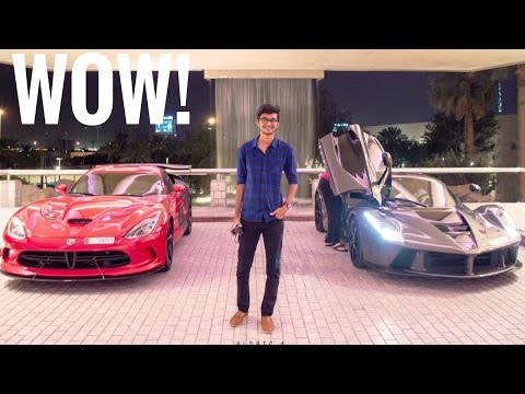 INDIAN MEETS THE RICH BILLIONAIRE OF DUBAI | SUPERCAR VLOG | DUBAI LIFESTYLE