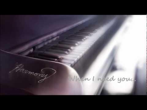 When I need you Piano Instrumental