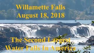 Willamette Falls August 18, 2018  No More War