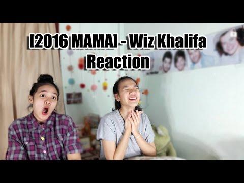 2016 MAMA Wiz Khalifa - Young Wild andFree+See you again Performance Reaction (Thai Ver.)|SeaSunSand