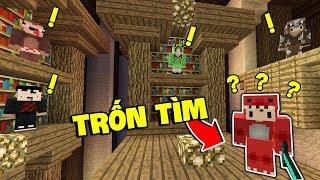 OOPS GANG MỚI CHƠI TRỐN TÌM LẦN ĐẦU TIÊN TRONG MINECRAFT??? (Zeros Minecraft)
