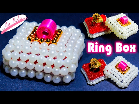 valentine day ring box | DIY  | Artkala 101