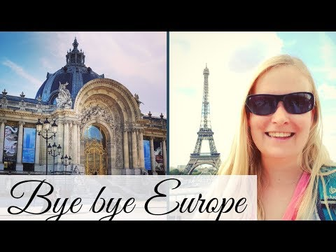 Last & Final Paris Vlog! | Paris, France Travel Vlog: Louvre, Tuileries, Sainte-Chapelle