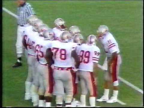 Univ of New Mexico vs New Mexico State Football 9/12/87
