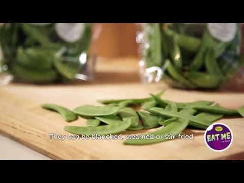EAT ME - how to prepare mangetout?