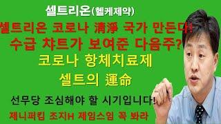 [주식] 셀트리온 코로나 청정 국가 만들어 준다!! 다…