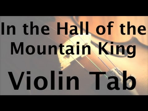 In the Hall of the Mountain King on the Violin Advanced!