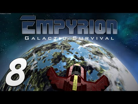 Empyrion: Galactic Survival Gameplay - #8 - To the Stars! A New Planet!