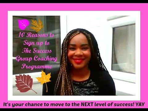 10 Reasons to Sign up to the Success Group Coaching Programme (for Beauty Queens and Models)