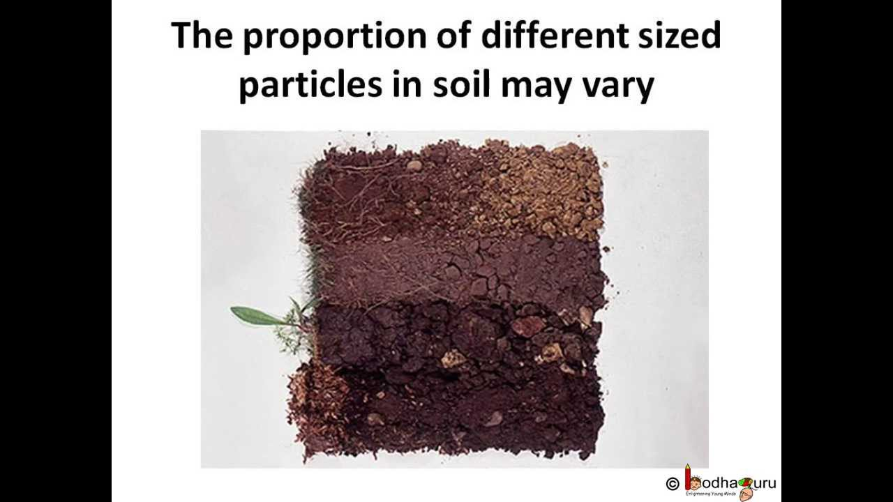 Science environmant soil different types of soil for Different uses of soil