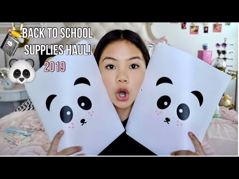 ✏️CUTEST BACK TO SCHOOL SUPPLIES HAUL!📓