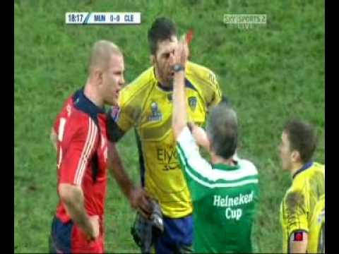 Munster Clermont Auvergne O Connell Cudmore Fight