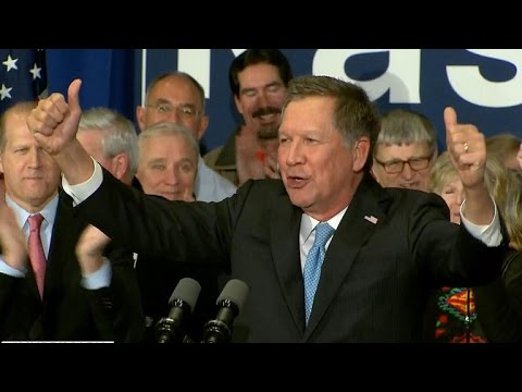 Full Video: John Kasich speaks after 2nd place New Hampshire finish