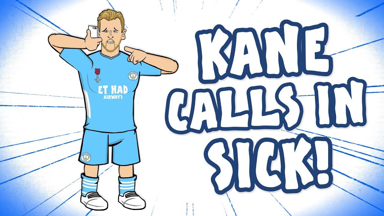 😲KANE MISSES TRAINING!😲 (Harry Kane Man City Transfer Parody)