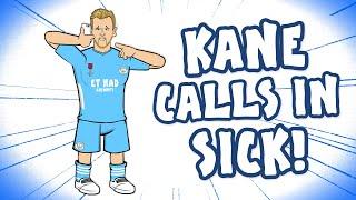 ?KANE MISSES TRAINING!? (Harry Kane Man City Transfer Parody)