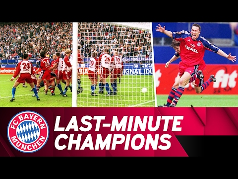 FC Bayern Last-Minute Champions: Andersson's Indirect Free Kick vs. HSV | 2000/01 Season