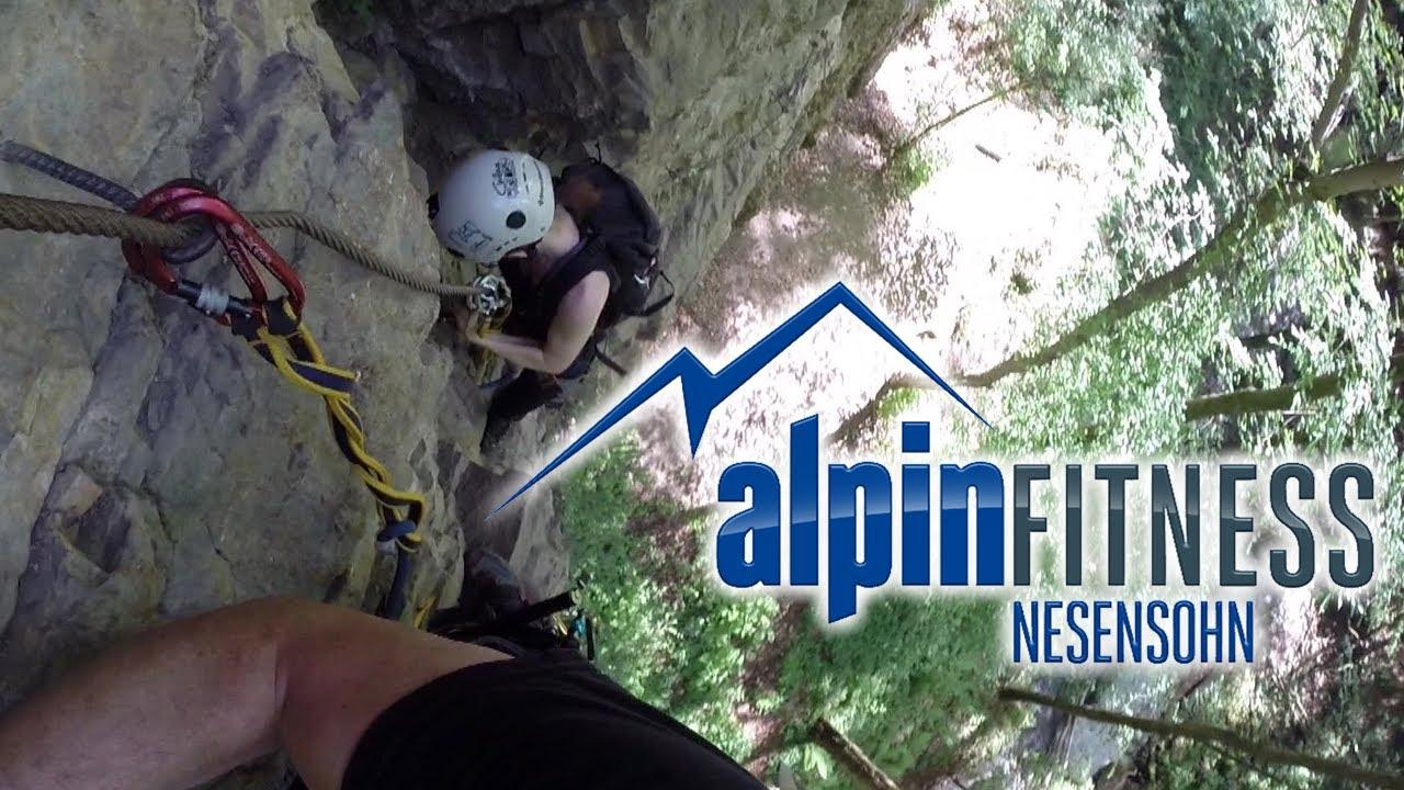 Klettersteig Vorarlberg : Örflaschlucht klettersteig Örfla canyon via ferrata götzis