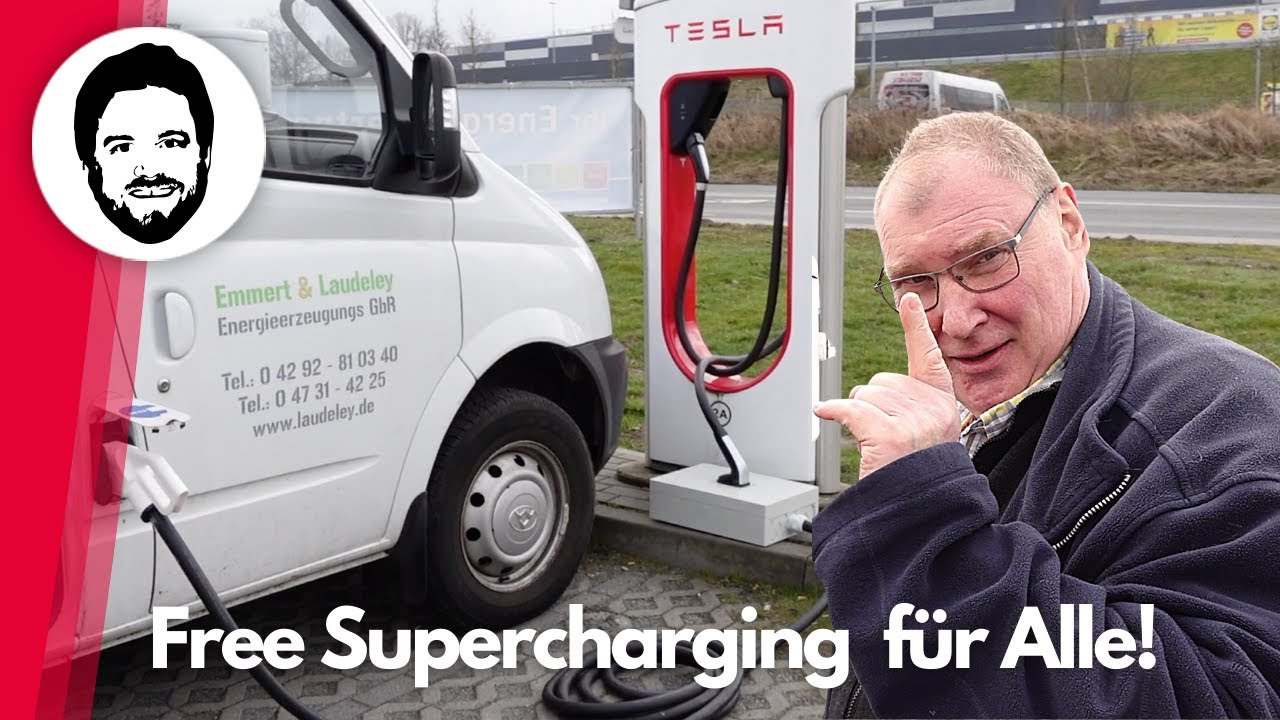 Free Supercharging für ALLE! - Holger knackt das Tesla Ladenetzwerk