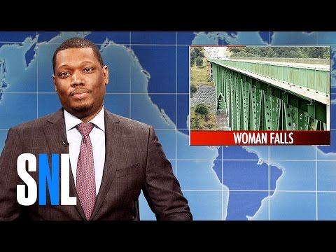 Thumbnail: Weekend Update on Woman's Selfie Accident - SNL