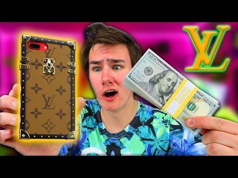 Using a $1,359.38 iPhone Case