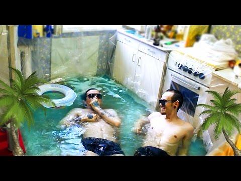 познакомились в бассейне