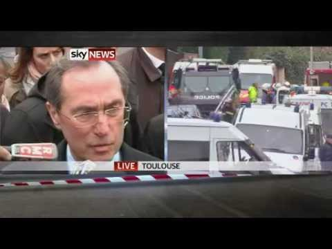 Toulouse Shooter Dies Jumping Out of Window During Shootout (Sky)