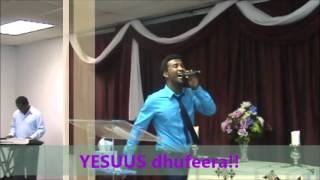 Oromo gospel song 2013. Burka Dereje..
