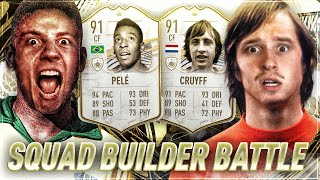 FIFA 21 : Pelé vs Cruyff ICON Squad Builder Battle 😱🔥