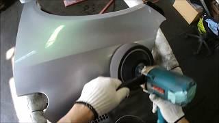 自動車中古部品 巻き込みこすり交換修理に ホンダフィット GD2 左フェンダー 商品化磨き点検 thumbnail