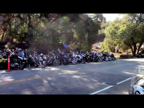 The Rock Store on Mulholland, The Best Biker Hangout in Los Angeles California
