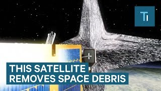 Satellite Might Be The Solution To Space Junk