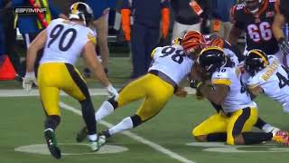 Joe Mixon Injury | Steelers vs. Bengals | NFL