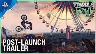 Trials Rising - Post Launch Trailer | PS4