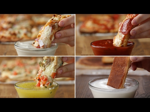 Download Youtube: Pizza Dippers 4 Ways