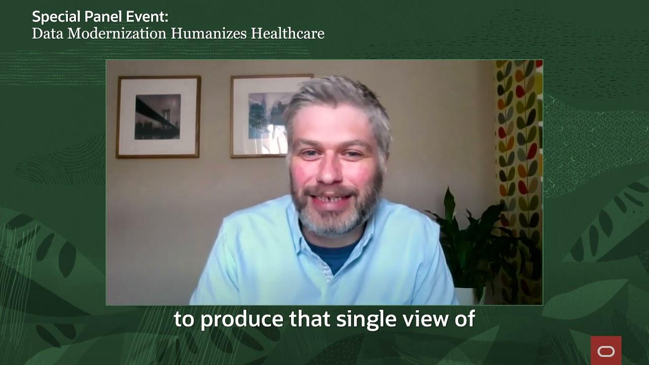 Data Modernization Humanizes Healthcare event EMEA 4