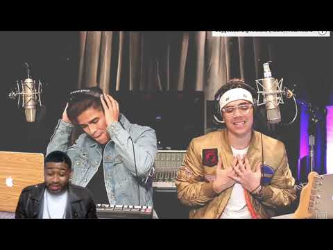 Black Beatles Confessions & No Problem  Alex Aiono AND William Singe Mashup Reaction